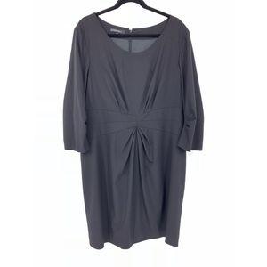 Lafayette 148 Black Career Dress